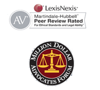 Million Dollar Advocates, LexisNexis Peer Review Rated